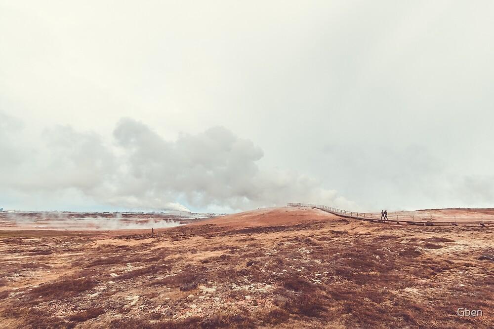 Gunnuhver - Iceland by Gben