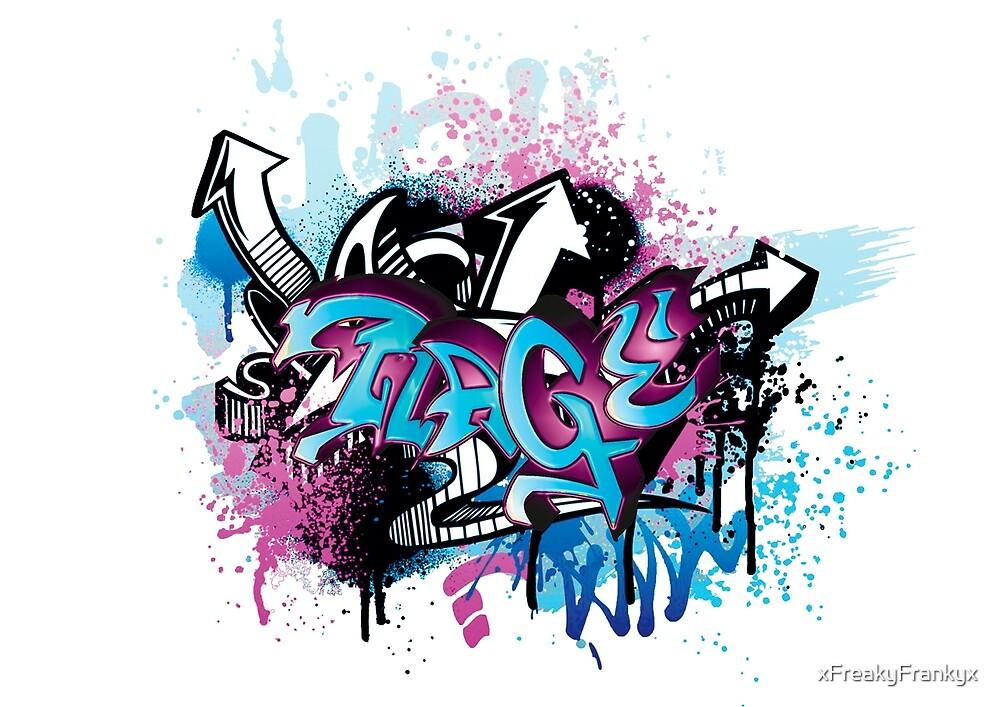 Rage Grafitti by xFreakyFrankyx