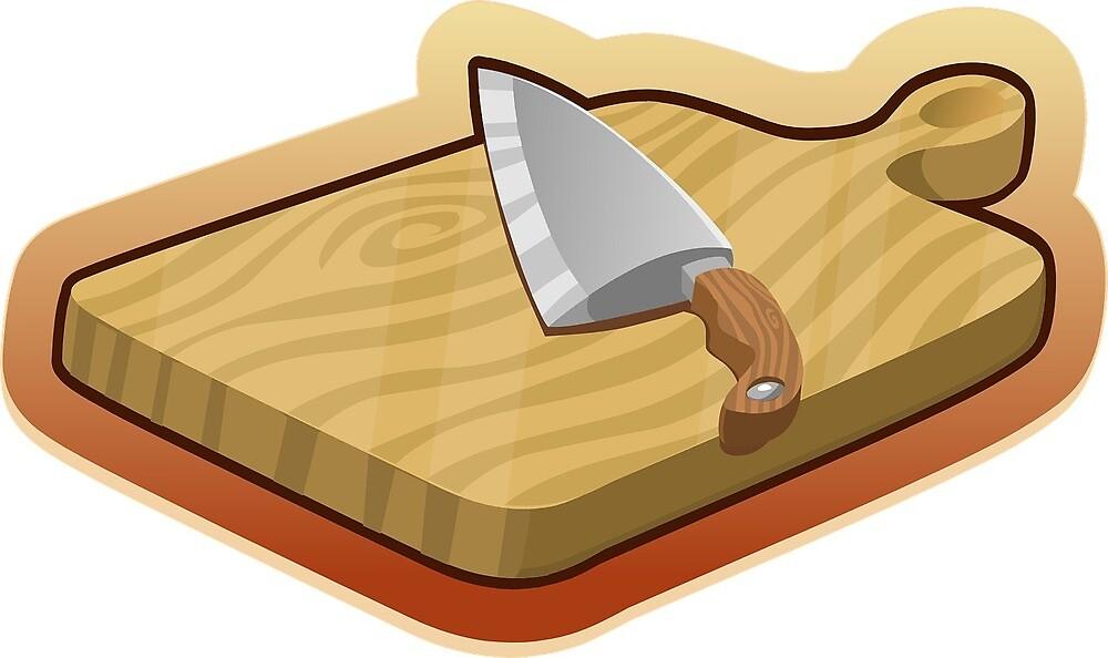 cutting board by Yuna26