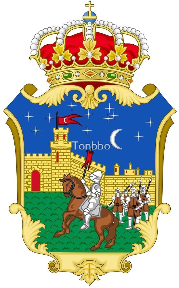 Guadalajara coat of arms, Spain by Tonbbo