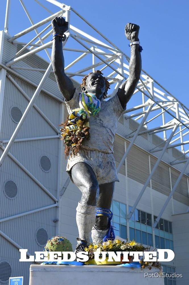 Billy Bremner, Leeds United, Elland Road by PotOilStudios