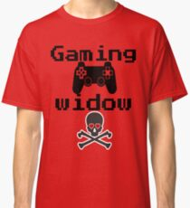 Retro video games - Gaming Widow Classic T-Shirt
