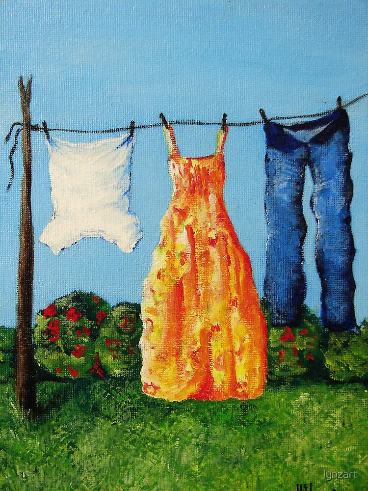 Favourites on Wash Day by lynzart