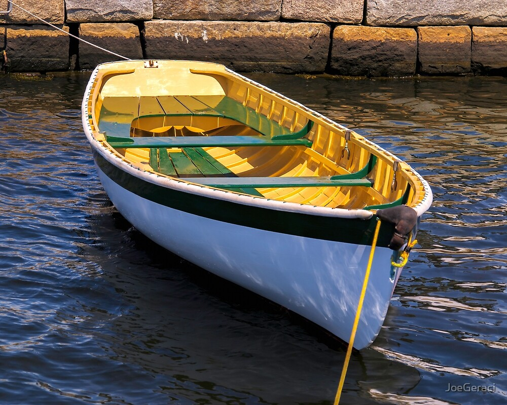 Small Boat Beauty by JoeGeraci