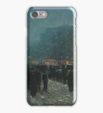 Broadway and 42nd Street 1902 Frederick Childe Hassam iPhone Case/Skin