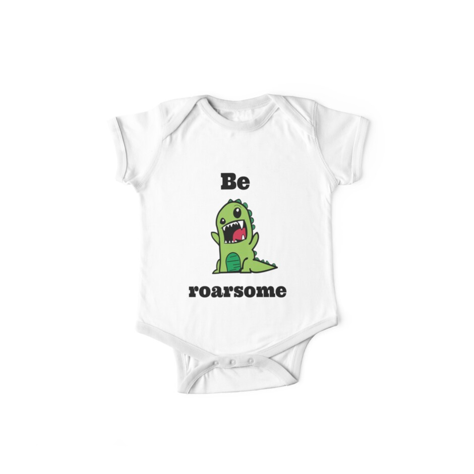 Be Roarsome - awesome dinosaur! by Discofunkster