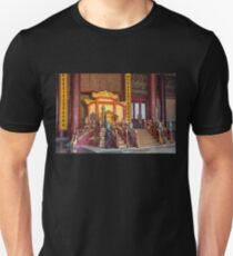 China. Beijing. The Forbidden City. Emperor's Throne. Unisex T-Shirt