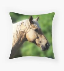 Palamino Throw Pillow