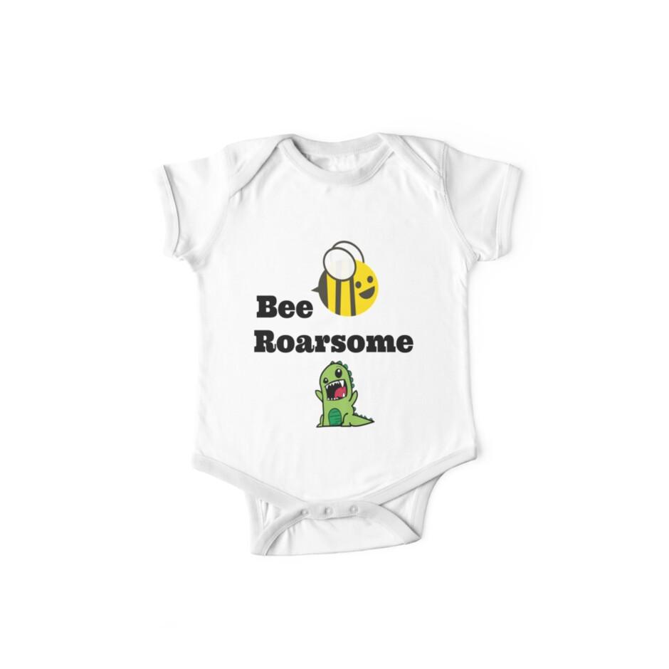 Bee Roarsome - cool dinosaur! by Discofunkster