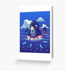 Summer Sardine Feast Greeting Card