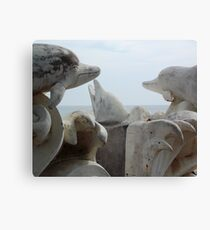 Dolphin Madness Canvas Print
