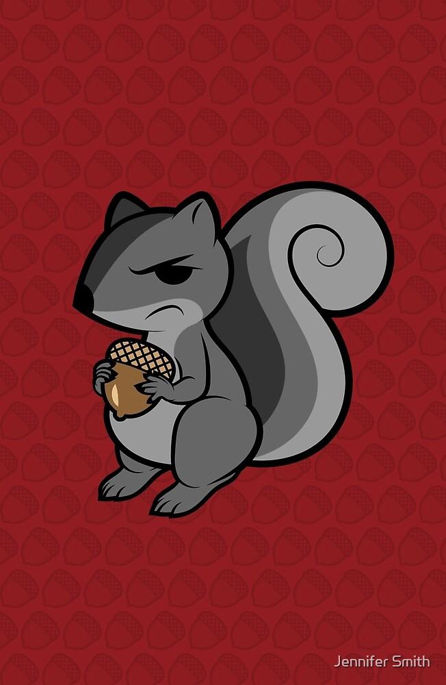 Disgruntled Nut by Jennifer Smith