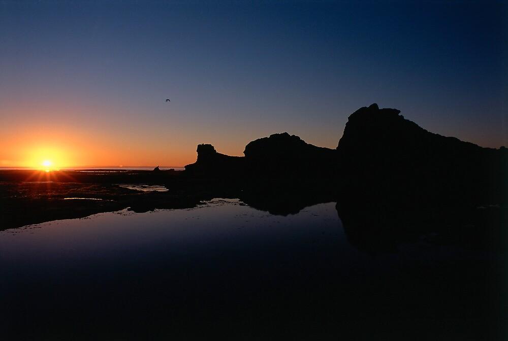 Sunset at Sphinx Rock by matt mackay