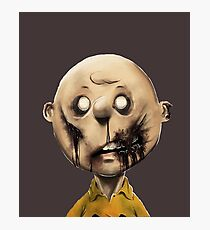 Charlie Brown is a zombie Photographic Print