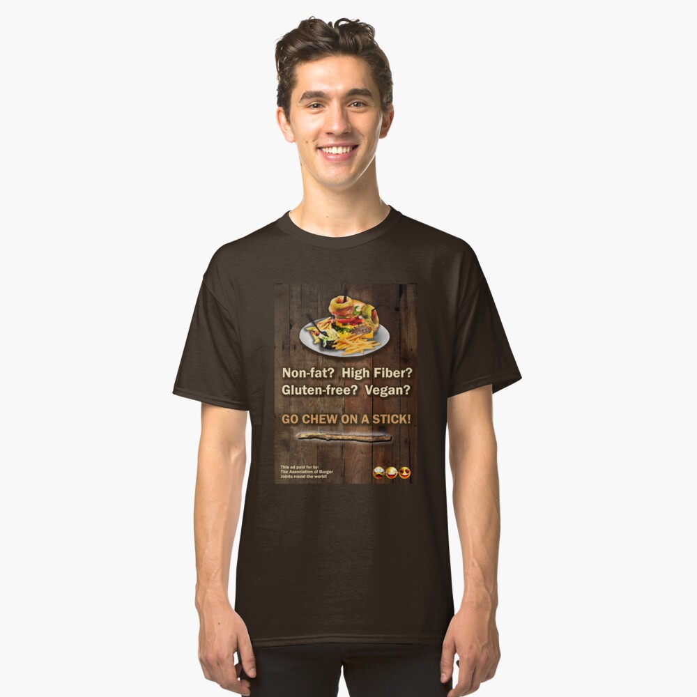 Isaacs All Beef Diet Classic T-Shirt Front