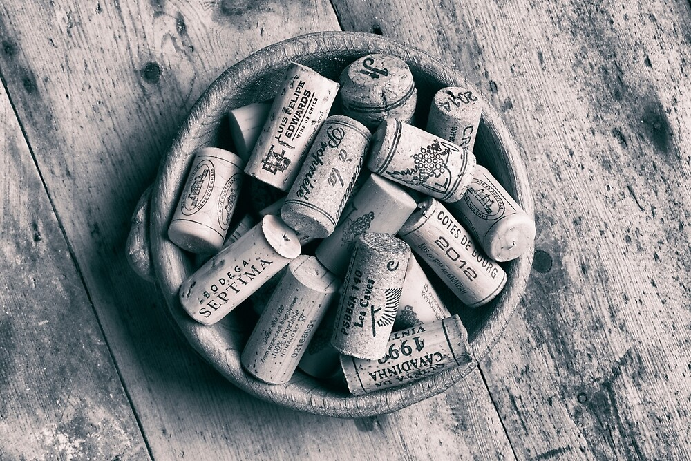 Collection of Corks. by Dave Hare