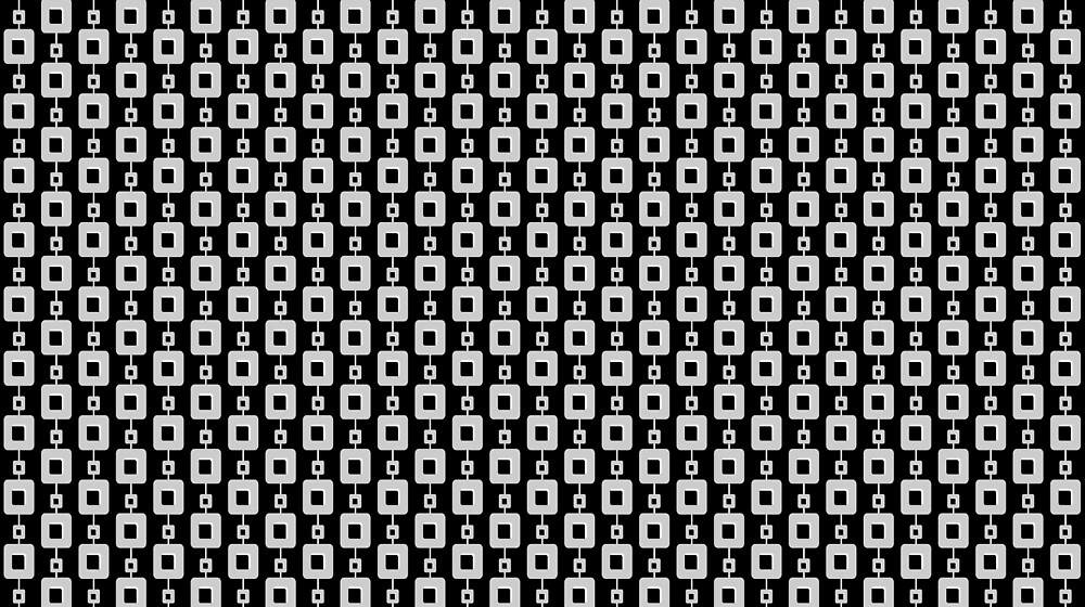 Black and White Retro Pattern by Bikki