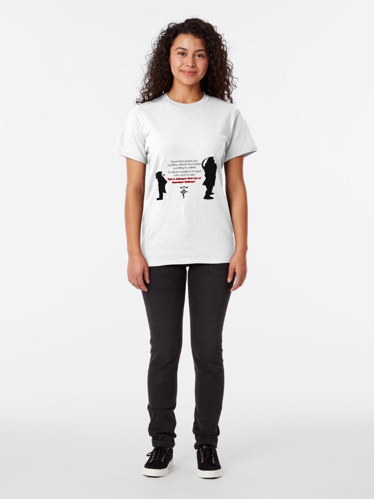 """Full Metal Alchemist Equivalent Exchange Quote"" T-shirt ..."