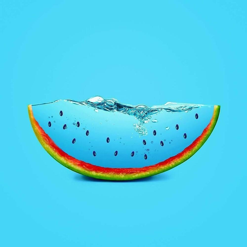 Blue watermelon by lucdom96