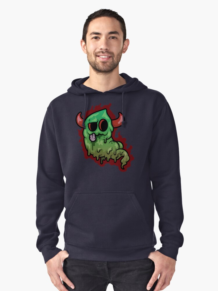 Stink Demon Pullover Hoodie Front
