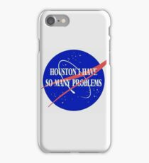 Nasa style illustration  iPhone Case/Skin