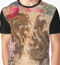 Koi Art Graphic T-Shirt