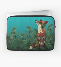floral fox Laptop Sleeve