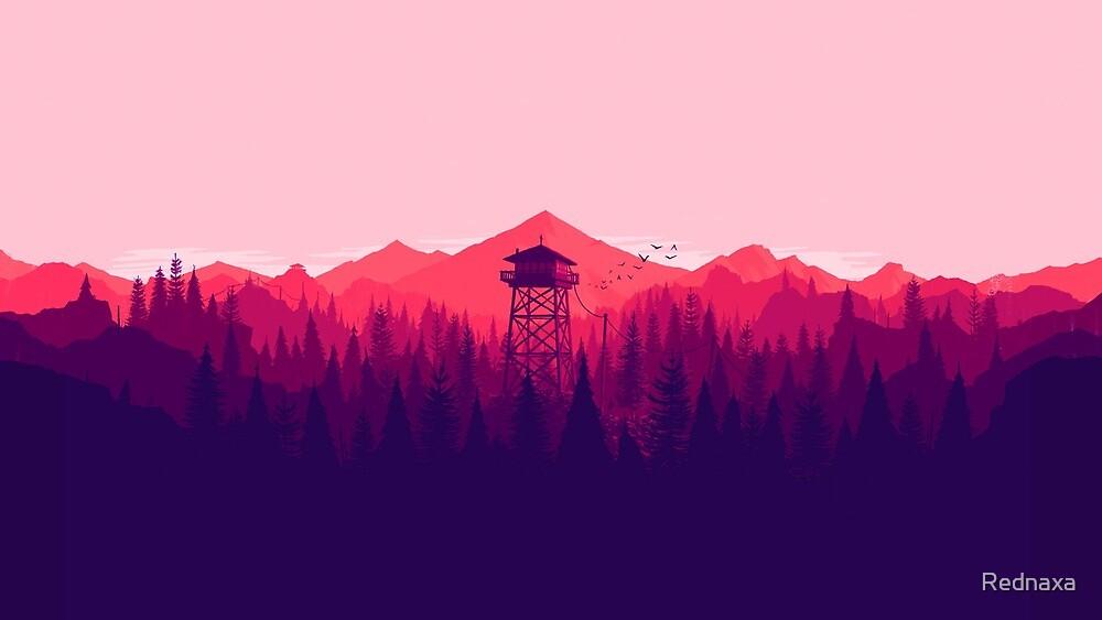 Firewatch high res by Rednaxa