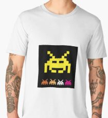 Invader from space  Men's Premium T-Shirt
