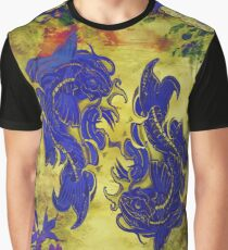 Koi Art 3 Graphic T-Shirt
