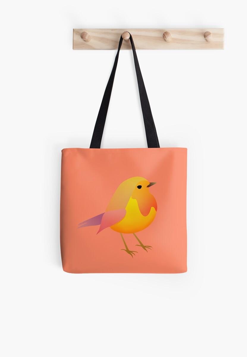 Peach bird by nicomazz
