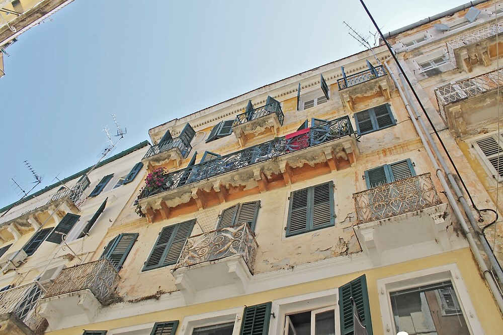 Corfu Old Town by tills