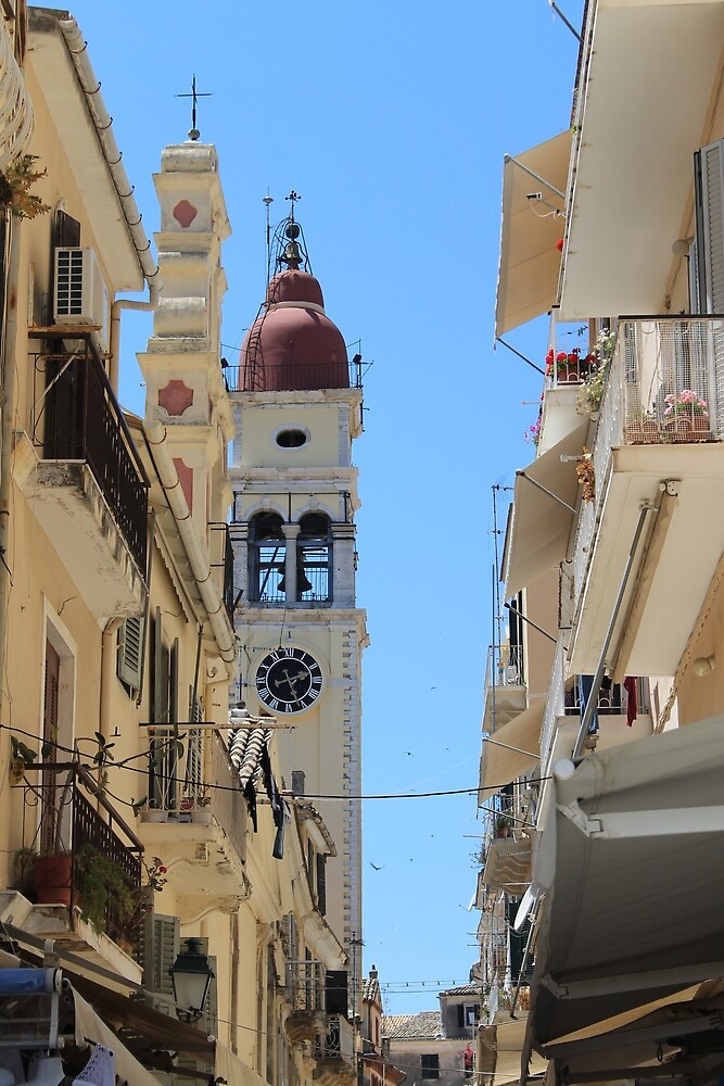 Corfu Clock by tills