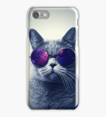 Hipster cat iPhone Case/Skin