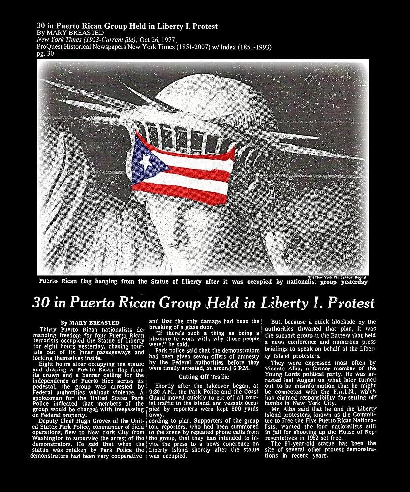 Puerto Rico Boricua Libertad by TrialNError