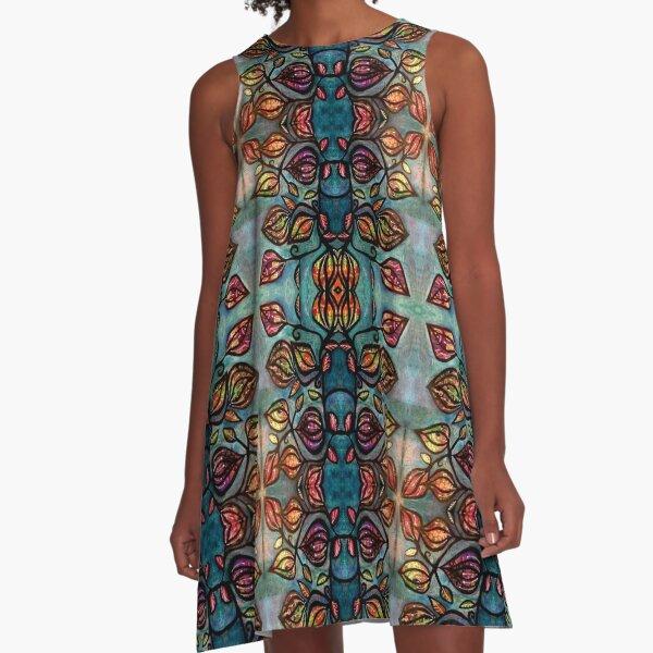 Spirit Vine A-Line Dress