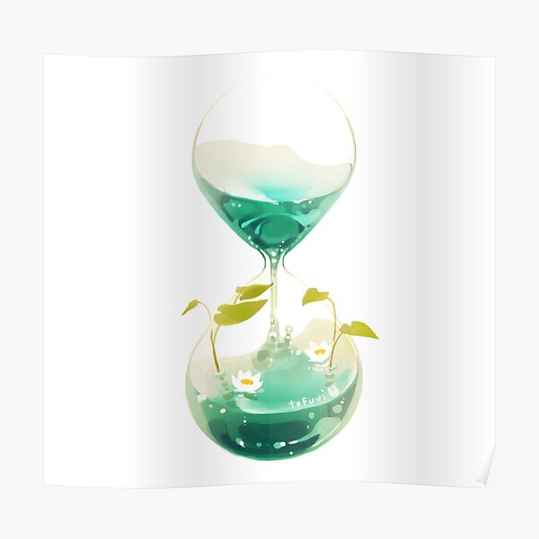 flow of time. Poster