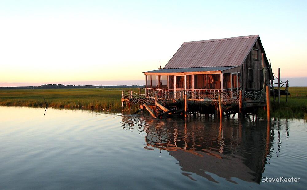 Fishing Hut by SteveKeefer