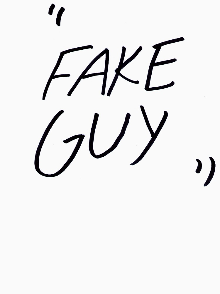 """Fake Guy"" Shirt by hazelcricket"