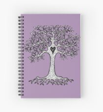 The Heart Tree Spiral Notebook