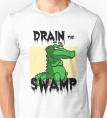 Drain The Swamp -Trump Political T-Shirt Unisex T-Shirt