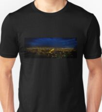 Night Panorama of Cuenca, Ecuador III Unisex T-Shirt
