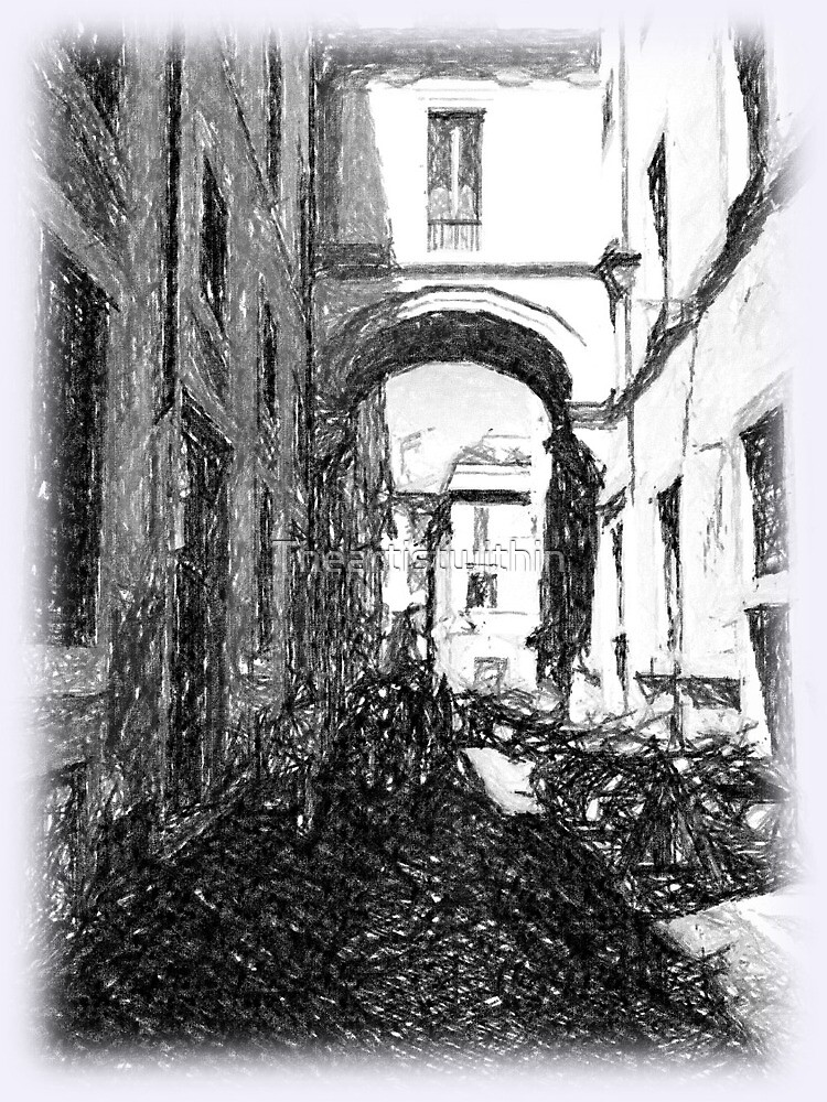 Street scene Rome by Theartistwithin