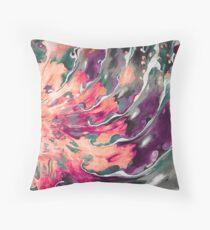 Art, Abstract, Modern, Contemporary Swirls Throw Pillow