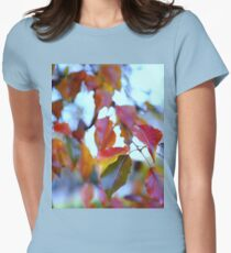 Colours Change Womens Fitted T-Shirt