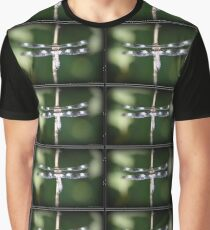 12-Spotted Skimmer Dragonfly (Male) Graphic T-Shirt