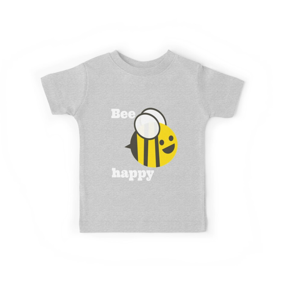 Bee Happy - retro awesome! by Discofunkster