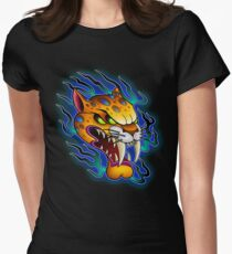 Sabre-Tooth Cat Women's Fitted T-Shirt