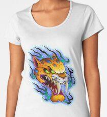 Sabre-Tooth Cat Women's Premium T-Shirt