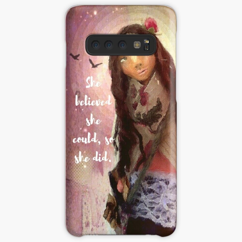 """""""Wisdom Keeper Series 1: She Believed She Could"""" Case & Skin for Samsung Galaxy"""